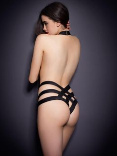 Sarah Stephens poses for Agent Provocateur Lingerie Fall/Winter 2012