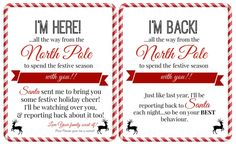 4 Awesome printable elf on the shelf introduction letter images