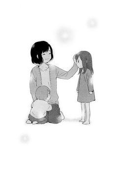 Manga Ookami Kodomo No Ame To Yuki cápitulo 4 página Totoro, Wolf Children Ame, Manga Cute, Manga Drawing, Anime Style, Anime Couples, Fairy Tales, Anime Art, Animation