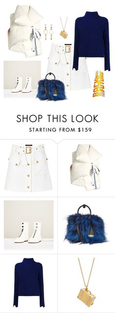 """The future- pack your things and go"" by juliabachmann ❤ liked on Polyvore featuring Louis Vuitton, Marques'Almeida, MCM, Proenza Schouler, Alex Monroe and Erickson Beamon"