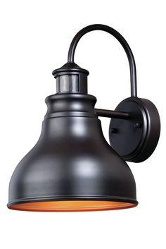 Delano Dualux® Brass 1-Light Outdoor Barn Light