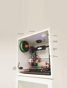 3d Printer Designs, 3d Printer Projects, Diy Projects, Impression 3d, Imprimente 3d, Diy 3d Drucker, Printer Shelf, 3d Printing Diy, 3d Printing