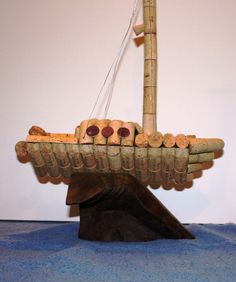 Cork Sailboat starboard
