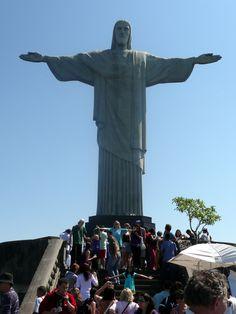 Rio De Janeiro, Brazil-Christ the Redeemer Statue