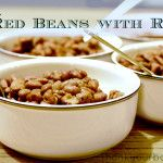 Easy Cajun Red Beans with Rice: I'll need to remember more salt and less cayenne pepper/chicken. But all in all this was a decent red bean recipe.