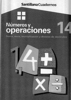 Números y operaciones 14 - Suma, resta, multiplicación y división de decimales