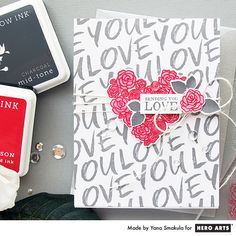 My Monthly Hero: Creativity in a Box January 2017 kit idea #5 by Yana Smakula. Kit and add-ons available for purchase Monday, January 9. #mymonthlyhero