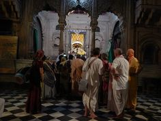 Vrindavan Temples Parikrama (Album with photos) Deena Bandhu Das: Relish these pics of our parikrama of some of Vrindavan Temples yesterday evening. We had a final sweet Braja Kirtan in Sri Sri Radha...