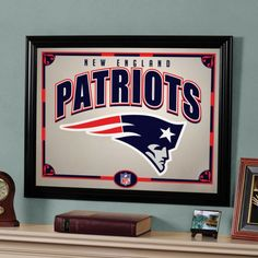 "The Memory Company New England Patriots 22"" Printed Mirror - NFL-NEP-858"