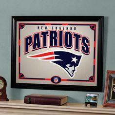 "The Memory Company New England Patriots 22"" Printed Mirror - NFL-NEP-858"