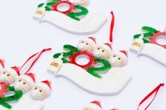2020-Holiday-Ornament-with-Mask-Christmas-Decorations-White-Elephant-Gift-USA