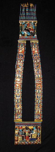 Osiris Pectoral Necklace of Tutankhamun
