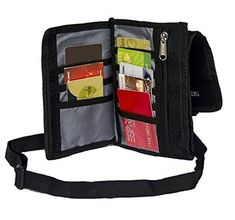 WestWoods Passport Travel Case money wallet pouch with Belt (Black) ** More info could be found at the image url.