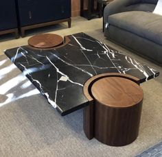 Modern Square Coffee Table, Unique Coffee Table, Coffe Table, Modern Table, Centre Table Design, Tea Table Design, Unique Furniture, Table Furniture, Furniture Design