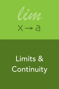 Limits and continuity together build an essential foundation for both differential and integral calculus. In this course, calculus tutor Krista King takes you through the complexity of limits, including the precise definition of the limit, and continuity.
