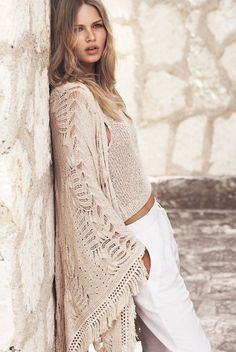 all the beauty things... : long crochet cover-up