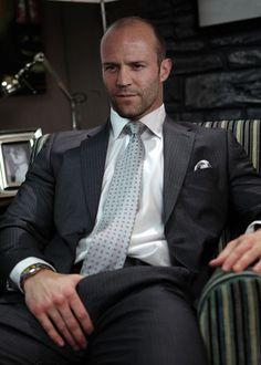 Jason Statham..... Wonder what hes holding...;)