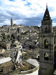 Matera, Italy If you are looking for a unique experience in Italy, I would highly recommend a trip to Matera!