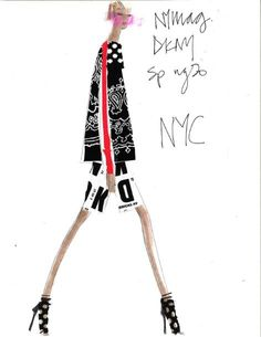 "Fashion's Mood Board: Designer Inspirations for Spring 2014 - The Cut | DKNY | ""NYC"""
