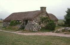 Image detail for -... - Photo of Old Leanach House, Culloden Moor, Inverness. Scotland