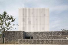 neri & hu completes suzhou chapel as a floating white box in china