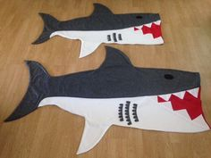 Original Kids Shark Attack Blanket by RusticSunsetBoutique on Etsy