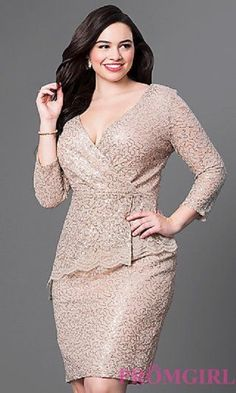 Shop short plus-size dresses and short dresses in plus sizes at PromGirl. Plus-size homecoming dresses, cocktail party plus dresses, and short plus-size dresses for prom. Plus Size Formal Dresses, Evening Dresses Plus Size, Plus Size Dresses, Plus Size Outfits, Evening Gowns, Casual Dresses, Short Dresses, Fashion Dresses, Trendy Dresses