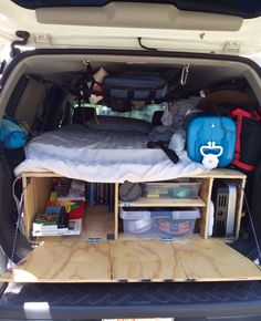 subaru forester camping conversion - Google Search