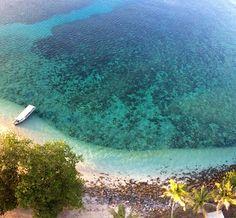 Pulau Lengkuas in Tanjung Pandan, Kepulauan Bangka Belitung