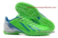 d2216596c Dropshipping Supported Wear Resistance 2013 Adidas Adizero F50 SYN Messi  III TF Green White High-quality Materials BOXING DAY TopDeals