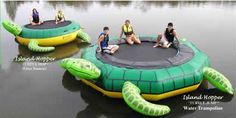 inflatable trampolines, water trampoline or bouncer and water toys