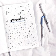 bullet journal page idea