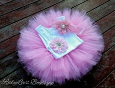#Pink #PhotoProp #BabyGirl #Outfit  #CakeSmash #Tutu #Headband #Matching #Set  #Birthday #PinkTutu Rubylee's Boutique Online https://www.facebook.com/Rubyleesboutiqueonline
