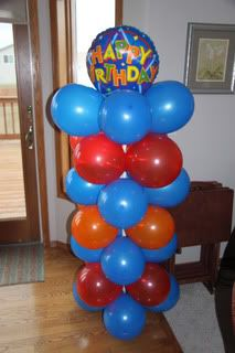 Step by step instructions (with pics) on how to make a balloon tower :)
