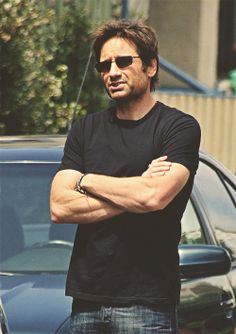I have a huge obsession with David Duchovny