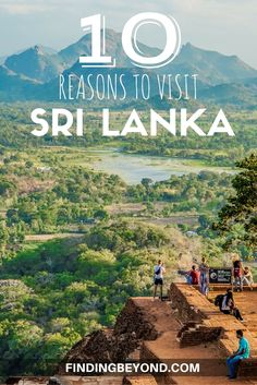 Sri Lanka is a diverse and tropical island below the southern tip of India. If you need some convincing to go, here's our 10 reasons to visit Sri Lanka.  Sri Lanka on a Budget   Backpacking Sri Lanka   Highlights of Sri Lanka   Explore Sri Lanka   Must see places in Sri Lanka   Why visit Sri Lanka   Top tips for Sri Lanka   Sri Lankan Paradise   Experience Sri Lanka   Sri Lanka beaches   Sri Lanka Wildlife   Sri Lankan History