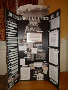 World War II Projects from National History Day Science Project Board, Science Fair Projects Boards, Mission Projects, History Projects, School Projects, Science Experiments For Preschoolers, Preschool Science, Team Bulletin Board