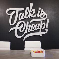 Talk is Cheap! - pprwrk studio