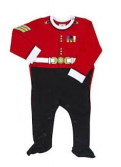 Dress up buckingham palace s gift shop sells a baby grow in the guise