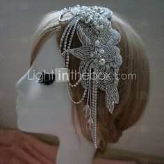 Women's Rhinestone Headpiece - Wedding/Special Occasion Headbands - USD $69.99