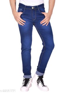 Checkout this latest Jeans Product Name: *Gorgeous Unique Men Jeans* Fabric: Denim Pattern: Solid Multipack: 1 Sizes:  28 (Waist Size: 28 in, Length Size: 42 in, Hip Size: 28 in)  30 (Waist Size: 30 in, Length Size: 42 in, Hip Size: 30 in)  32 (Waist Size: 32 in, Length Size: 42 in, Hip Size: 32 in)  34 (Waist Size: 34 in, Length Size: 42 in, Hip Size: 34 in)  36 (Waist Size: 36 in, Length Size: 42 in, Hip Size: 36 in)  38 (Waist Size: 38 in, Length Size: 42 in, Hip Size: 38 in)  40 (Waist Size: 40 in, Length Size: 42 in, Hip Size: 40 in)  42 (Waist Size: 42 in, Length Size: 42 in, Hip Size: 42 in)  Country of Origin: India Easy Returns Available In Case Of Any Issue   Catalog Rating: ★3.9 (229)  Catalog Name: Designer Unique Men Jeans CatalogID_4699638 C69-SC1211 Code: 915-22061771-9922
