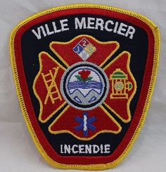 Patches For Sale, Mercier, Fire Department, Selling On Ebay, Porsche Logo, Fire Dept