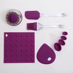 Purple Kitchen Gadget set from Kohls!