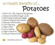 10 Health Benefits of Potatoes. by ZaraFee 10 Health Benefits of Potatoes. by ZaraFee Sport Nutrition, Health And Nutrition, Health Tips, Health Care, Nutrition Guide, Grape Nutrition Facts, Nutrition Store, Health Articles, Potato Health Benefits