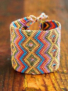 Love this native inspired bracelet!