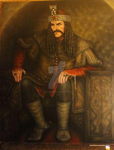 Vlad III Dracula on his throne. Vlad El Empalador, Order Of The Dragon, Werewolf Hunter, Hellsing Alucard, Coppola, Vlad The Impaler, Count Dracula, Vampires And Werewolves, Royal Blood