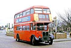 This bus ended up on the Chiswick Works skid patch, and in August 1979 I had the experience of riding thereon. I have a photo but I totally screwed up the exposure so I'm reluctant to post it.