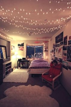 Tiaamoore Awesome Bedrooms New Room Dream Rooms Teen Girl Rooms, Teenage Girl Bedrooms, College Bedrooms, College Apartments, College Dorms, Hipster Bedrooms, College House, Room Decor Teenage Girl, Basement Bedrooms