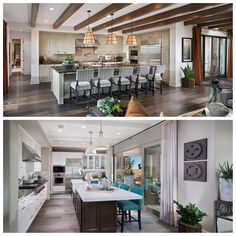 Which kitchen would you prefer?  #home #design #decor #gourmet #foodie #kitchen