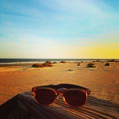Ray Bans on the beach at Wild Dunes Resort, Isle of Palms, South Carolina